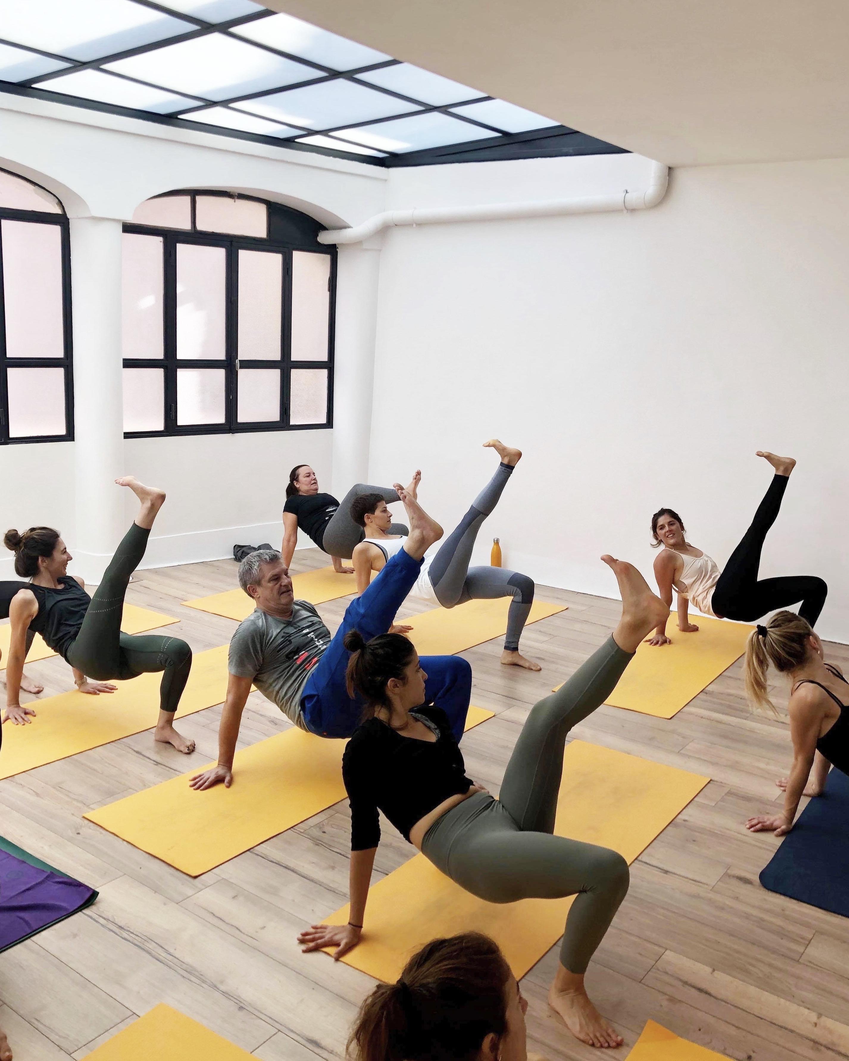 yoga vinyasa atelier stage ginastica natural